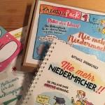 Auf dem Bild ist das Niedermacher-Set von Nathalie Bromberger zu sehen - mein Buchtipp für den Januar 2016.