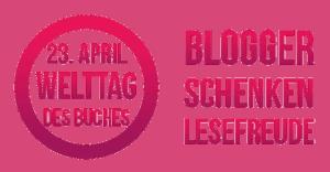 Auf dem Bild ist das Logo von Blogger schenken Lesefreude zu sehen