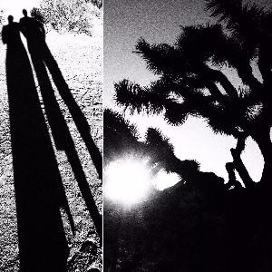 Auf dem Bild sind zwei Schwarz-weiß-Aufnahmen aus dem National Park Yosuha Tree zu sehen.