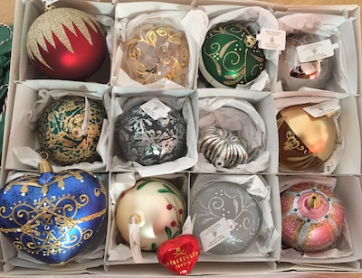 Eine Auswahl des schönen Weihnachtsschmucks von BunterBaum.de