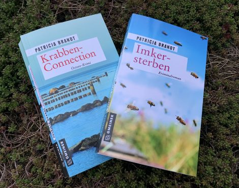 """Zwei Ostsee-Krimis von Patricia Brandt. """"Krabben-Connection"""" und """"Imkersterben"""""""